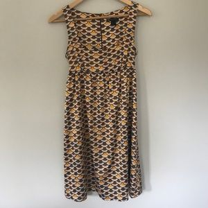MNG Casual Sportswear 70s Print Summer Dress Tie
